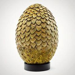 Modelos 3D para imprimir Dragon egg, j140781