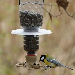 J_201110_124418_DxO.jpg Télécharger fichier 3MF Mangeoire à oiseaux T38 à monter sur une bouteille PET • Objet à imprimer en 3D, jirkabr