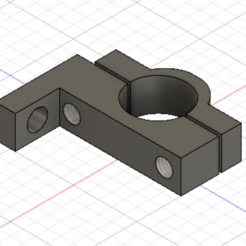 Download free 3D printer model retrovisor support, didierdebue