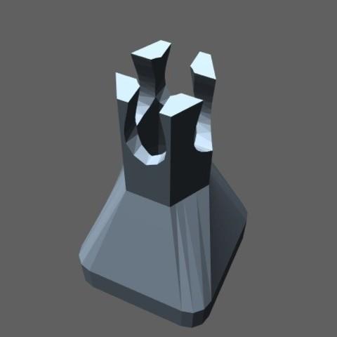 Benzene seal 2.jpg Télécharger fichier STL gratuit Joint benzène (#XYZCHALLENGE) • Modèle à imprimer en 3D, kaifat115