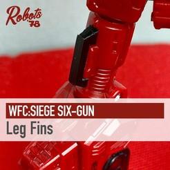 sixgun-fins-cults.jpg Télécharger fichier STL WFC : Ailerons de siège à six canons • Objet pour impression 3D, Robots78