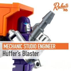huffer-blaster-cults.jpg Télécharger fichier STL Le blaster de Huffer pour un ingénieur de studio mécanique • Objet pour imprimante 3D, Robots78