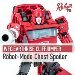 Download STL WFC:Earthrise Cliffjumper Chest Spoiler/Wing, Robots78