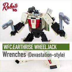 wheeljack-wrenches-cults.jpg Télécharger fichier STL Clés à molette • Plan à imprimer en 3D, Robots78