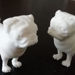 Download 3D printer model Little Pug, dawnsdesigns