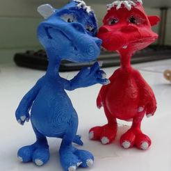 3D print files Little Monster, dawnsdesigns