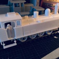 "Download STL Locomotive ""type 53"" Belgian State Railways (SNCB/NMBS) 1/32, serge_desmet"