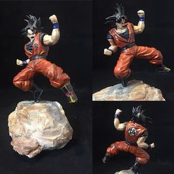 Download free 3D model Goku, relmicro