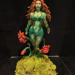 Download STL file POISON IVY - DC COMICS • Template to 3D print, relmicro