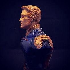 Download free STL file HOMELANDER The Boys • 3D printer model, relmicro