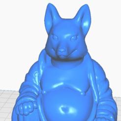 fclose.png Télécharger fichier STL gratuit Bouddha renard (Collection d'animaux) • Objet imprimable en 3D, ToaKamate