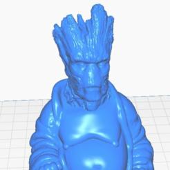 gclose.png Télécharger fichier STL gratuit Bouddha adulte Groot (GOTG) (Collection Marvel) • Design à imprimer en 3D, ToaKamate
