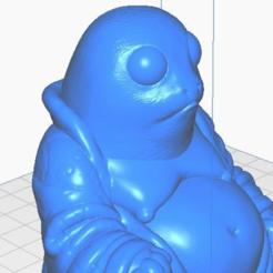 pclose.png Télécharger fichier STL gratuit Porg Buddha (collection Star Wars) • Design pour impression 3D, ToaKamate