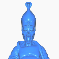 up-close.png Download free STL file Undead Priest Buddha (Egyptian Collection) • 3D printer design, ToaKamate