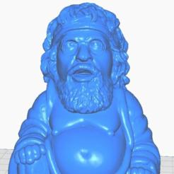 """cclose.png Télécharger fichier STL gratuit Bouddha Chong (Cheech et Chong - Collection """"Personnes célèbres"""") • Plan à imprimer en 3D, ToaKamate"""