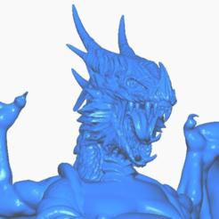 dclose.png Télécharger fichier STL gratuit Ailes de Bouddha dragon (Collection Mythologie) • Design à imprimer en 3D, ToaKamate