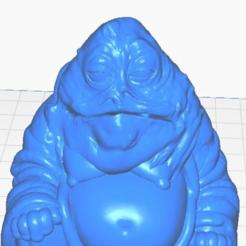 jhclose.png Télécharger fichier STL gratuit Jabba le Bouddha Hutt (collection Star Wars) • Modèle pour imprimante 3D, ToaKamate
