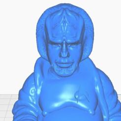 wclose.png Télécharger fichier STL gratuit Lt Worf Buddha (Collection Star Trek) • Modèle à imprimer en 3D, ToaKamate
