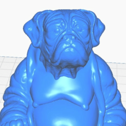bclose.png Download free STL file Boxer Buddha (Canine Collection) • Object to 3D print, ToaKamate
