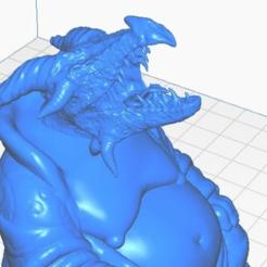 dragon-close.png Télécharger fichier STL gratuit Bouddha Dragon (Collection Mythologie) • Modèle pour impression 3D, ToaKamate