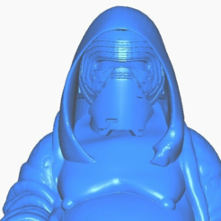 kclose.png Download free STL file Kylo Ren Buddha (Star Wars Collection) • 3D printing template, ToaKamate