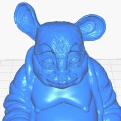 cmclose.png Télécharger fichier STL gratuit Bouddha de la souris de campagne (Collection d'animaux) • Modèle imprimable en 3D, ToaKamate