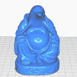 df-front.png Download free STL file Dolphin Buddha (Animal Collection) • Design to 3D print, ToaKamate