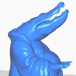 aclose.png Télécharger fichier STL gratuit Bouddha alligator avec ses mains (Collection d'animaux) • Modèle à imprimer en 3D, ToaKamate