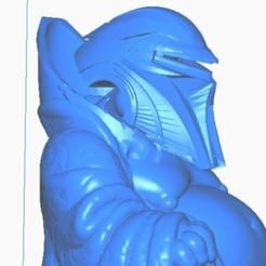 cclose.png Télécharger fichier STL gratuit Cylon Buddha (Battlestar Galactica - Collection TV / Cinéma) • Modèle à imprimer en 3D, ToaKamate