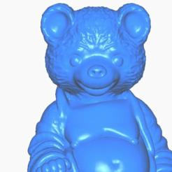 bclose.png Télécharger fichier STL gratuit Bouddha de l'ours en peluche • Design pour imprimante 3D, ToaKamate