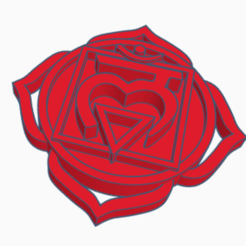 chakra 1.png Download free STL file Root Chakra - Muladhara • 3D printable object, bressanreinhard