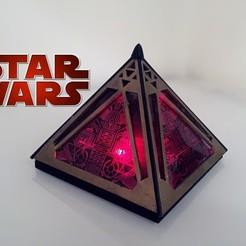 Descargar archivo 3D gratis Holocrón Sith, Fayeya