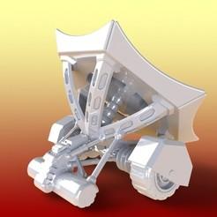 Solar_Thermal_Sintering_Rover_01_display_large.jpg Télécharger fichier STL gratuit Terraformeurs solaires thermiques • Plan imprimable en 3D, Fayeya