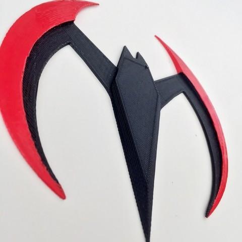 Download free 3D printing templates Batman Beyond Batarang, Fayeya