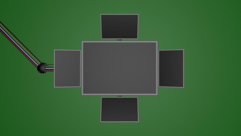 drop_down_screen_display_large.jpg Télécharger fichier STL gratuit les images de l'écran déroulant (écran vert) • Objet pour imprimante 3D, Fayeya