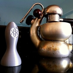 Download free 3D printing models Atomic Coffee Tamper, Fayeya