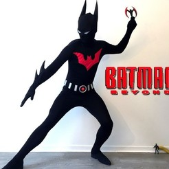 Download free STL file Batman Beyond Cosplay • Object to 3D print, Fayeya