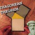 Télécharger fichier STL gratuit Théorème de Pythagore - Marbre • Plan pour impression 3D, Fayeya