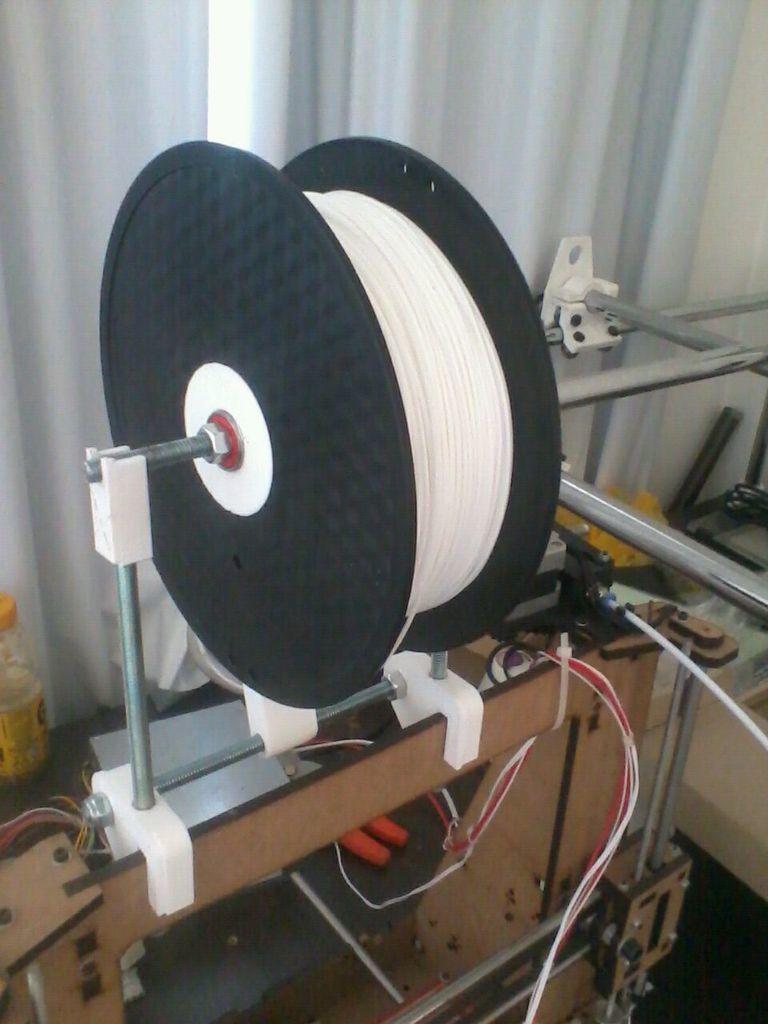 24fcea76da8140c36f323a3a9653a283_display_large.jpg Download free STL file Graber i3 filament spool for bowden • 3D printing model, Fayeya