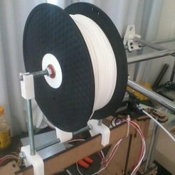 Download free 3D print files Graber i3 filament spool for bowden, Fayeya