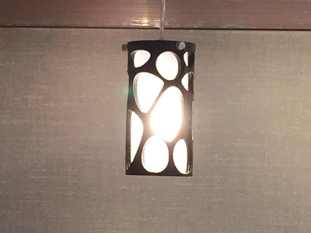 IMG_3985_display_large.JPG Download free STL file Voronoi Cylinder Lamp • 3D printing template, Witorgor