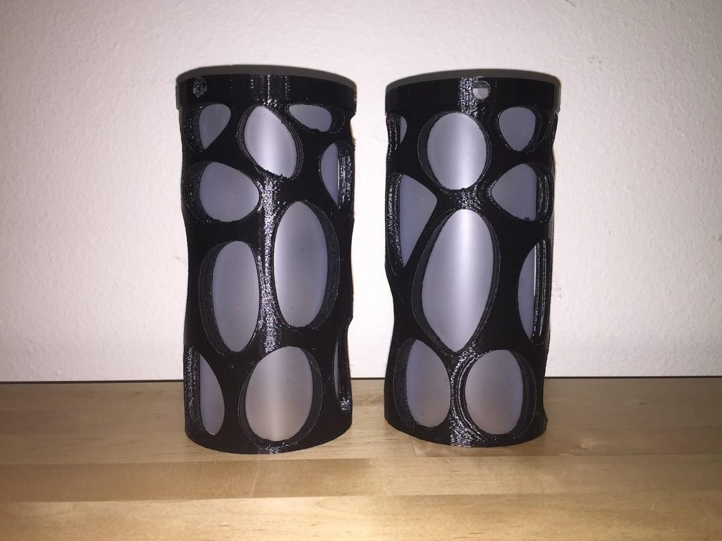 IMG_3981_display_large.JPG Download free STL file Voronoi Cylinder Lamp • 3D printing template, Witorgor