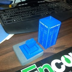 Download free 3D printer files Tardis Ring Box, Witorgor