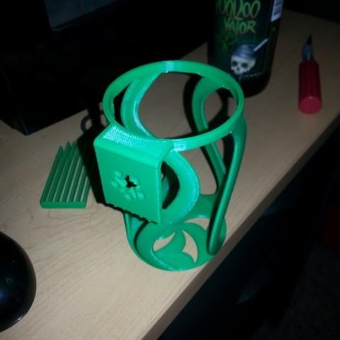 20150905_115502_display_large.jpg Download free STL file Beer Bottle Holster • 3D printer model, Witorgor