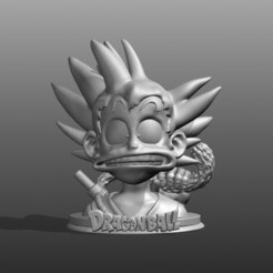3D printer files goku dragon ball, pasavo
