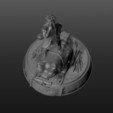 3D print files diorama jiraiya, pasavo