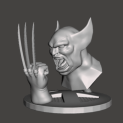 Download 3D printer files wolverine wolverine, pasavo