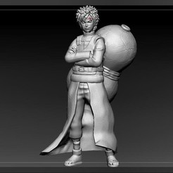 IMG_20190119_102459_571.jpg Download OBJ file gaara naruto • 3D print design, pasavo