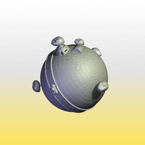 Fichier imprimante 3D PLANÈTE KAIO DRAGONBALL, pasavo