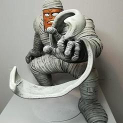 3D printing model mummy dragonball, pasavo